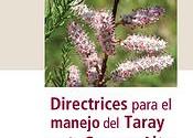 Directrices manejo del taray en la Cuenca Alta del Guadiana