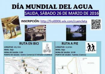 Ruta Senderista y Cicloturismo en el Día Internacional del Agua