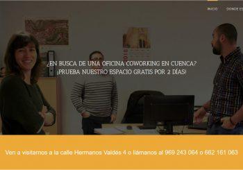 Web de Coworking Cuenca