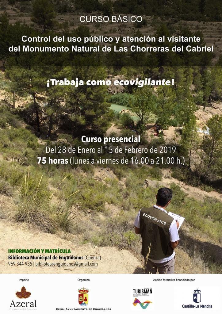 Curso ecovigilantes de Las Chorreras del Cabriel